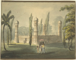 Tomb of a 'Killadar' (governor of a fort) Ouscottah (Mysore)